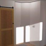 Vue 3D Dressing (avec les portes)