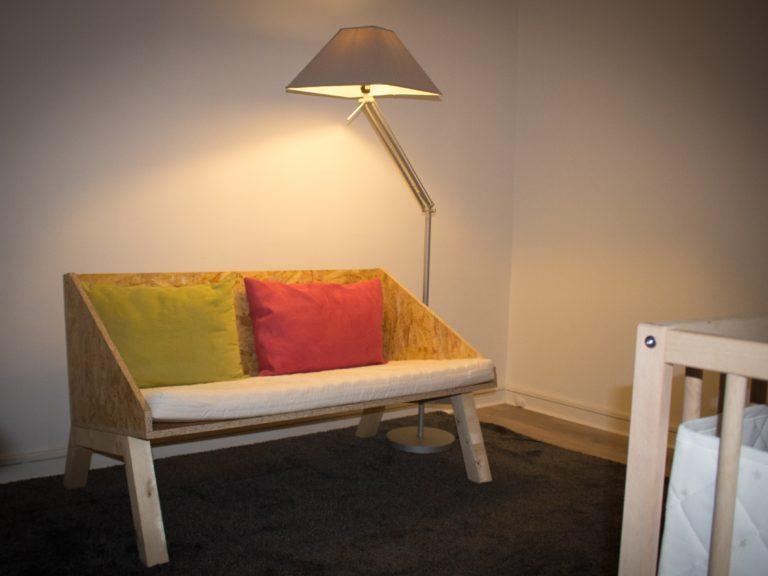 Canapé pour une chambre d'enfant