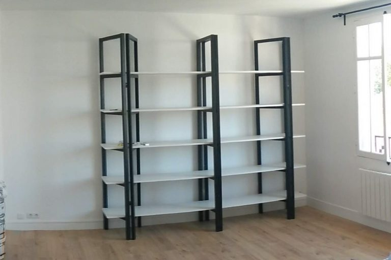 La réalisation de cette bibliothèque