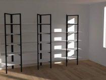 Projet 3D de bibliothèque